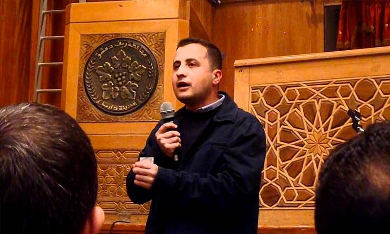 الناشط السوري السلمي يحيى شربجي