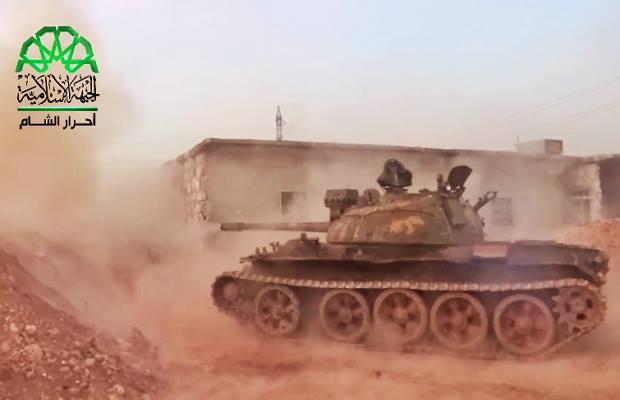 حركة أحرار الشام داخل مخيم حندرات 10-3-2013
