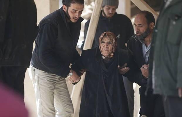 الصورة لـ بسام الحكيم - الغوطة الشرقية