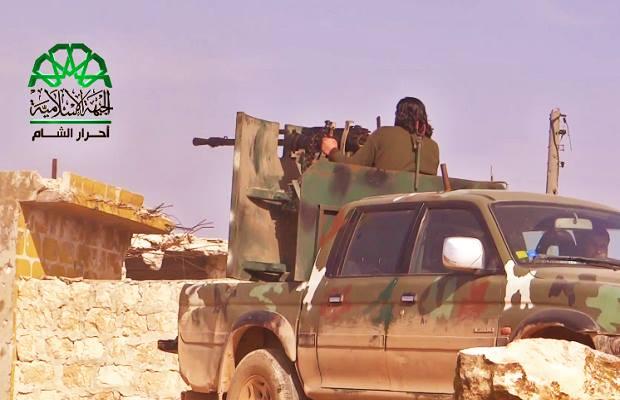 الاشتباكات داخل قرية حندرات 9-3-2015