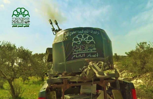 التصدي للطيران الحربي في ريف اللاذقية 9-3-2015