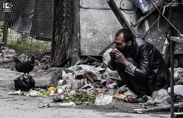 عدسة شاب دمشقي - مخيم اليرموك - 3/3/2015