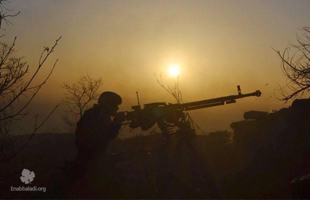 الاشتباكات على محور جبل دورين 11-3- 2015