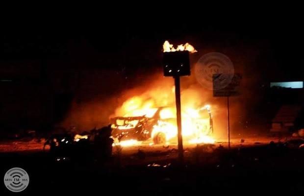 صورة أولية للانفجار - أرتا إف إم