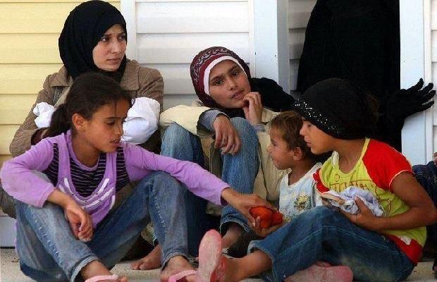 عائلة سورية في اليمن