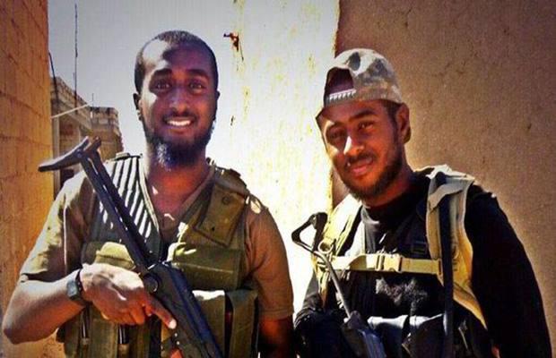 البريطانيان محمد وأكرم صباح قبل أيام من مقتلهما في سوريا