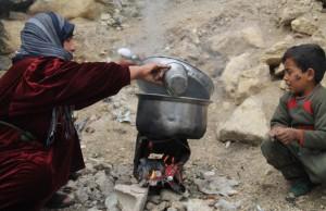 صورة عائلة في مخيم اليرموك التقطت عام 2013