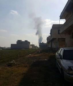 الانفجار في مدينة اعزاز، الأربعاء 30 كانون الأول 2015