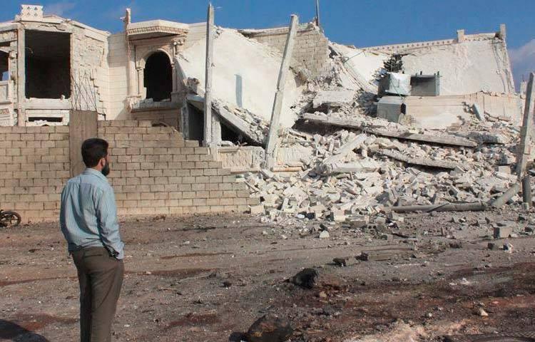انفجار مفخخة في مدينة اعزاز أمس الأربعاء