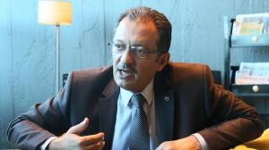 إبراهيم حسين، عضو مجلس القضاء السوري الحر