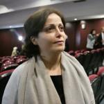 سهير الأتاسي، الناشطة الحقوقية وعضو الائتلاف الوطني المعارض