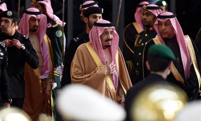 الملك سلمان بن عبد العزيز في الرياض (فرانس بريس)