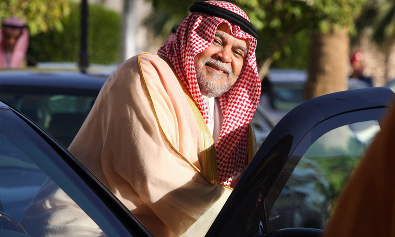 الأمير السعودي بندر بن سلطان، في 2007 (فرانس بريس)