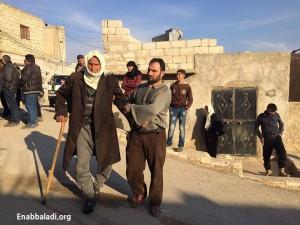 الحاج عثمان، من كفرنايا في ريف حلب الشمالي الغربي (عنب بلدي).