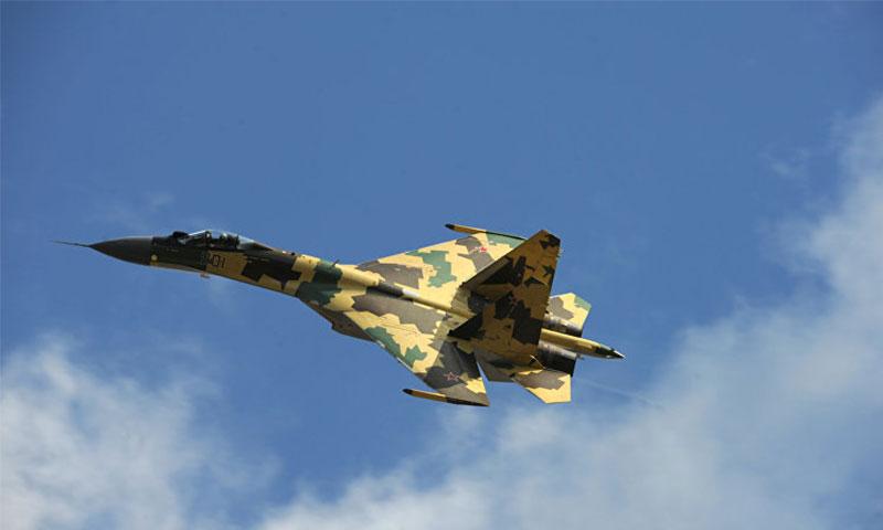 طائرة سووخوي35 الروسية