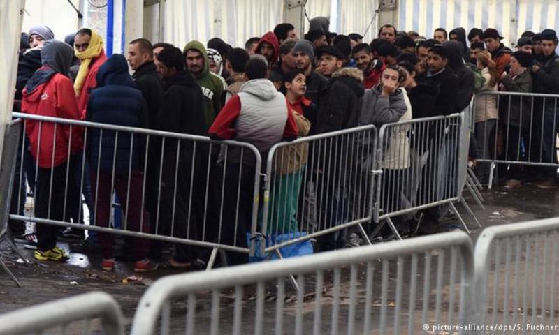مراكز إيواء اللاجئين في ألمانيا (DPA)
