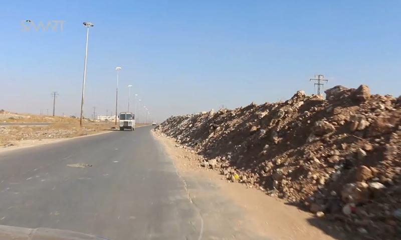 طريق الكاستيلو، هو المنفذ الوحيد الذي يصل حلب بريفها الشمالي والغربي.