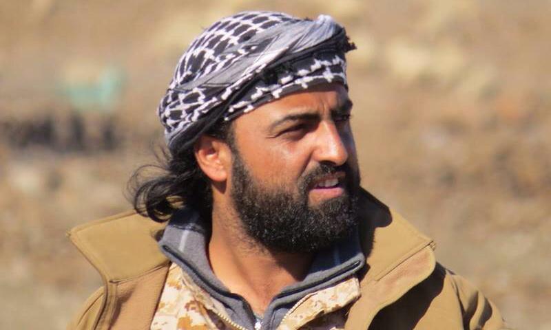 النقيب أبو حمزة النعيمي، قائد جبهة ثوار سوريا في القنيطرة.