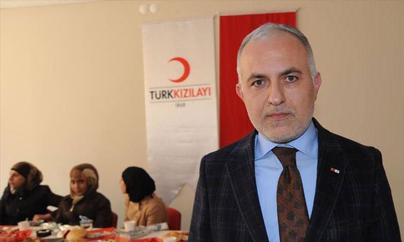 نائب رئيس الهلال الاحمر التركي( الاناضول)