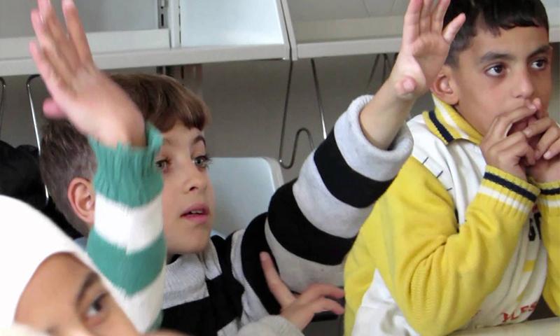 Syrian children - Enab Baladi