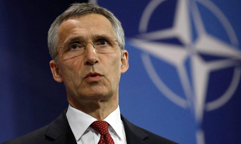 الأمين العام لحلف شمال الأطلسي، ينس ستولتنبرج.