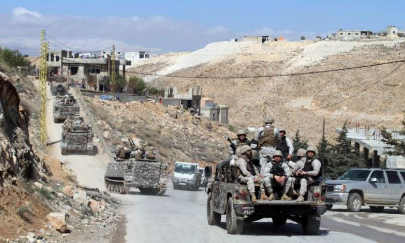 تعبيرية لرتل في الجيش اللبناني في منطقة عرسال (إنترنت)