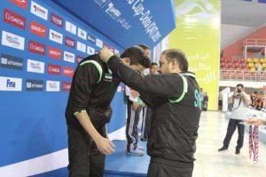 من تتويج السباحين السوريين في البطولة الدولية السابعة بقطر 2015