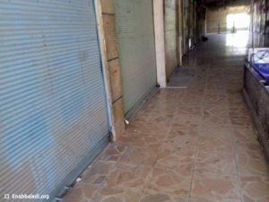 المحال مغلقة داخل القامشلي - الأربعاء 20 نيسان (عنب بلدي)