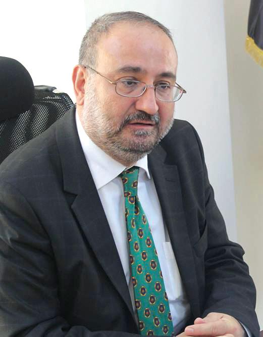 رئيس الحكومة السورية المؤقتة أحمد طعمة