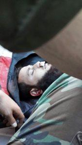 """حركة أحرار الشام تنعي قائد أركانها """"إسلام1"""""""