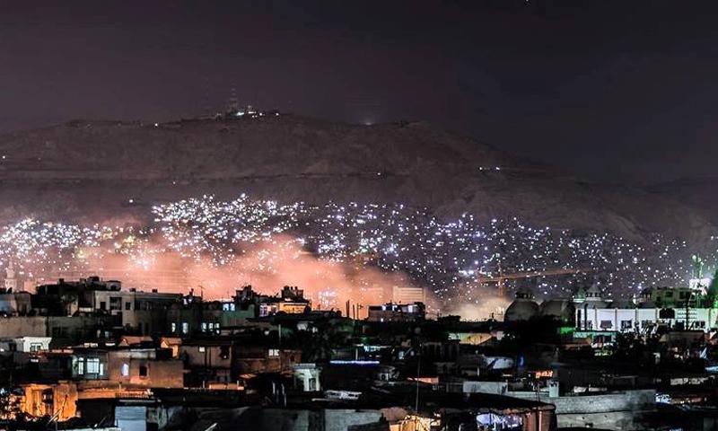 الحرائق استمرت حتى مساء السبت، 23 نيسان (دمشق الآن).