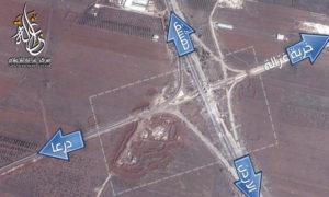 الحاجز الجنوبي لبلدة خربة غزالة (مركز غزالة للإعلام).