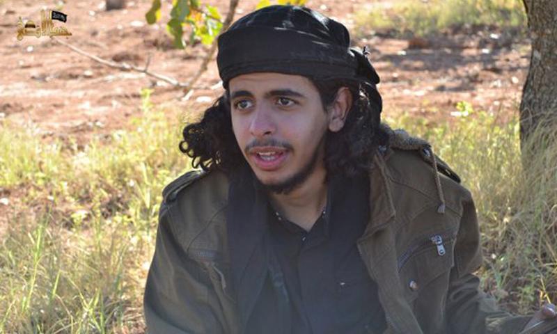 """أبو مصعب الجزراوي، منفذ تفجير """"المفخخة"""" في خربة الناقوس، اليوم، الاثنين 18 نيسان."""