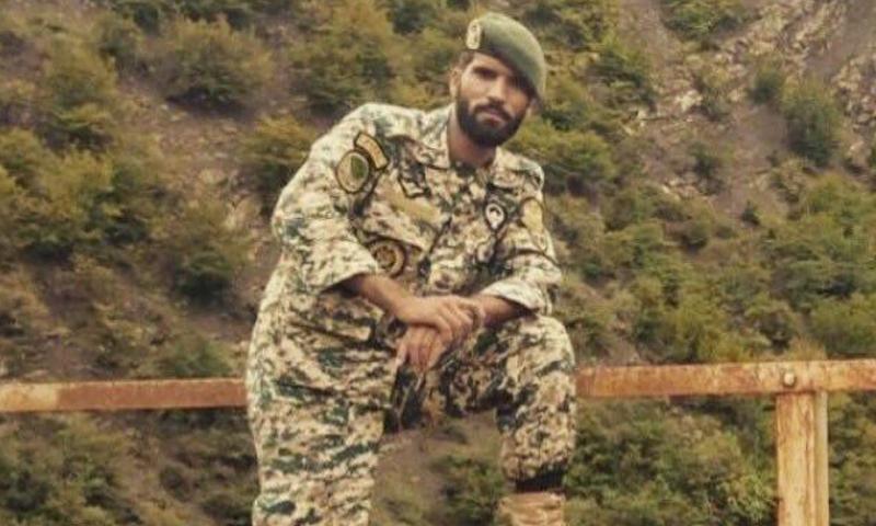 الملازم محسن قيطاسلو، من اللواء 65 التابع للجيش الإيراني.