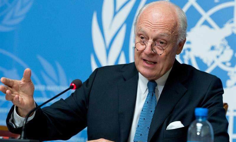 مبعوث الامم المتحدة ستافان دي ميستورا