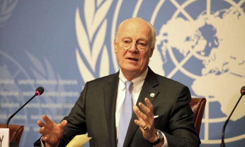 مبعوث الأمم المتحدة إلى سوريا ستيفان دي ميستورا