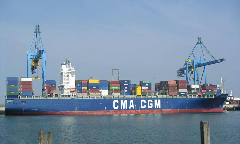 شركة CMA-CGM للنقل البحري الفرنسية