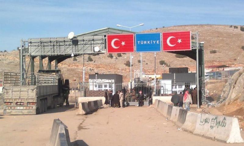 معبر اليمضية الحدودي مع تركيا