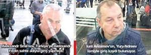 الروسيان المحتجزان بحسب وسائل إعلام تركية
