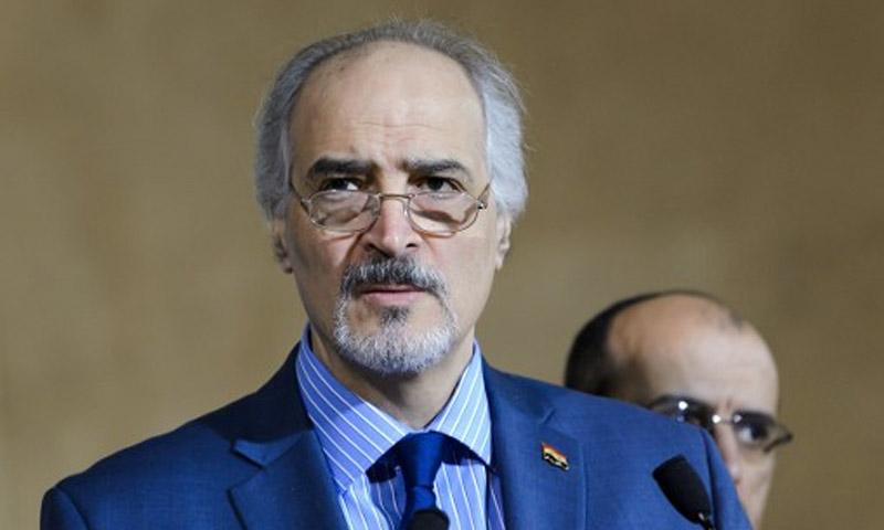 رئيس وفد النظام إلى جنيف بشار الجعفري