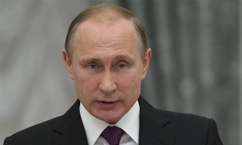 الرئيس الروسي، فلاديمير بوتين،