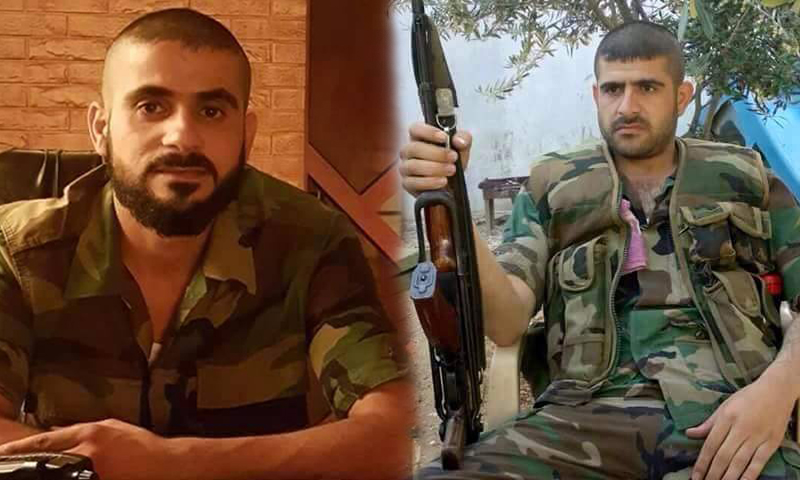 الشقيقان علي (يمين) ومحمد الحجي.