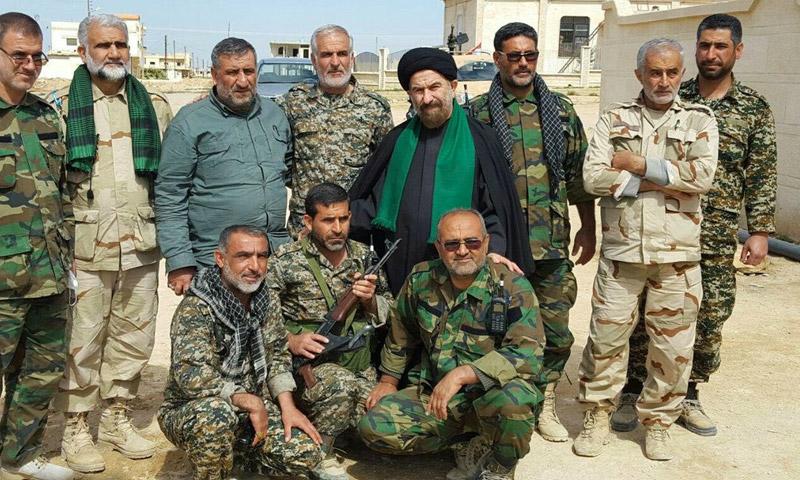 قوات إيرانية في سوريا(أرشيف)