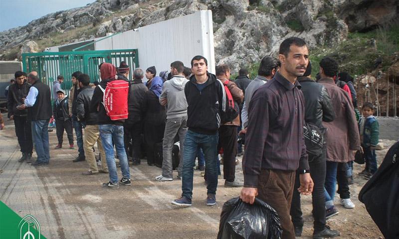 معبر باب الهوى الحدودي مع سوريا