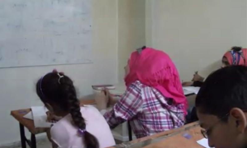 مدرسة في حي الوعر بحمص (عنب بلدي)