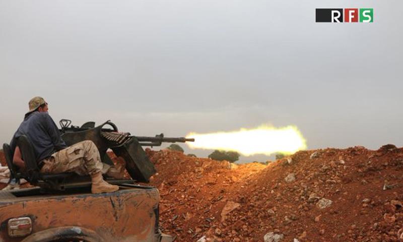 من معارك ريف حلب الشمالي (المكتب الإعلامي لقوى الثورة السورية)