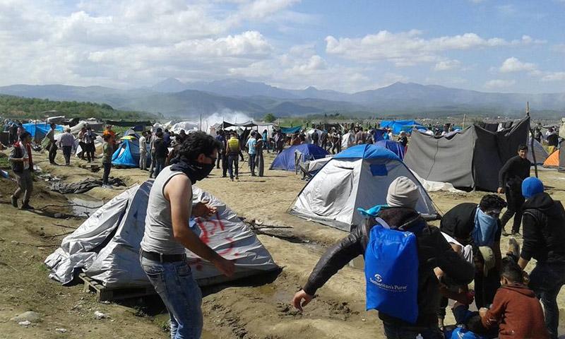 الحدود المقدونية اليونانية