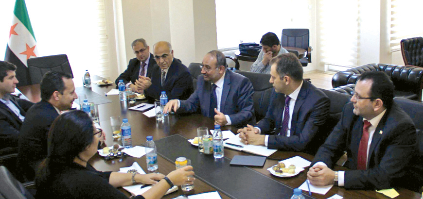 syrian goverment meeting