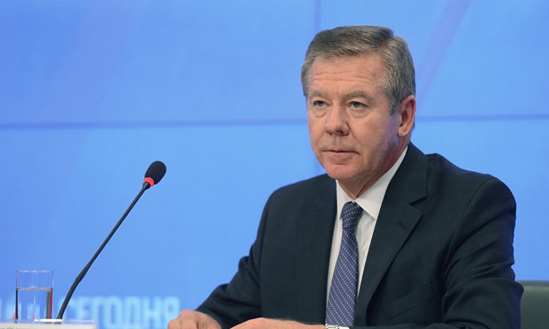 نائب وزير الخارجية الروسي، غينادي غاتيلوف