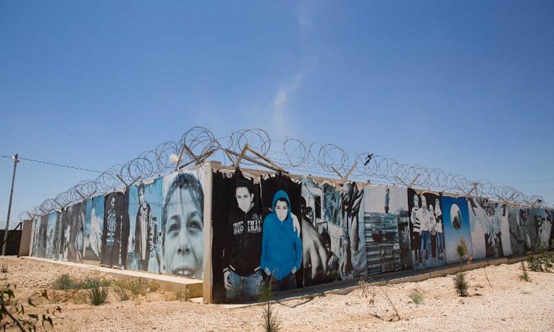 مخيم الزعتري للاجئين السوريين في الأردن - أيار 2015 (DPA)